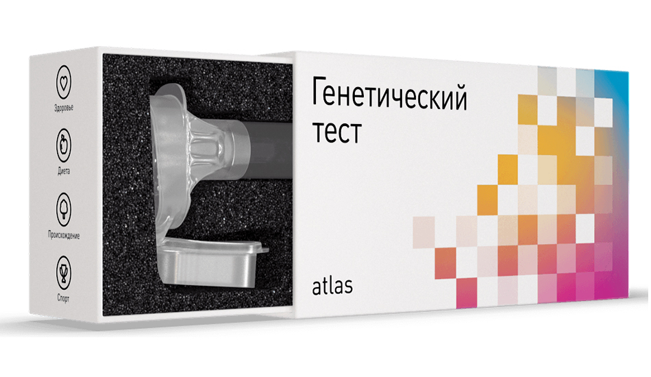 Генетический тест Atlas (Атлас)
